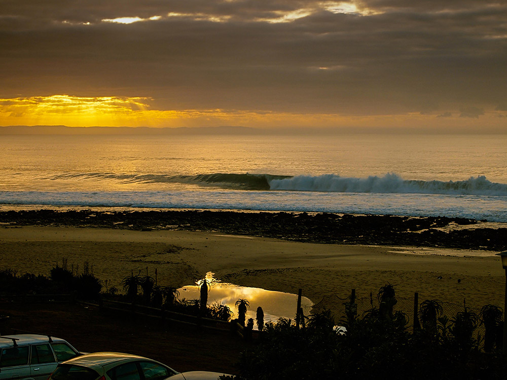 Jeffreys bay south africa surfing