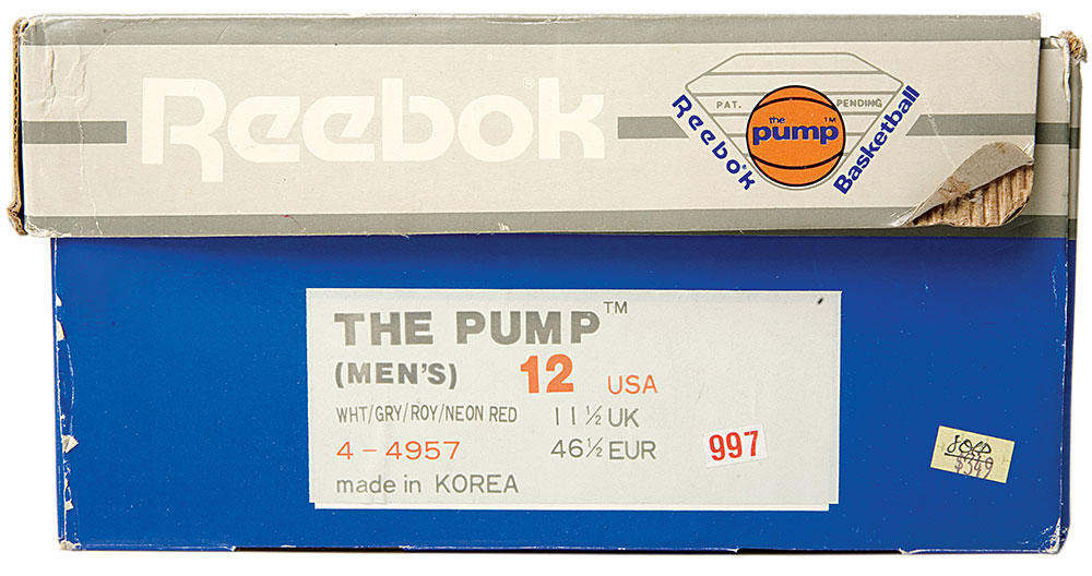 1989: The Pump packaging Copyright: Sneaker Freaker