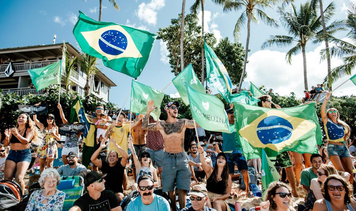 Brazilian fans. Image WSL