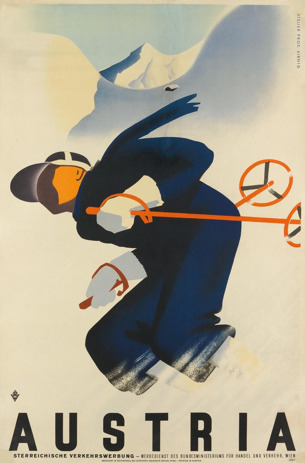 vintage ski posters