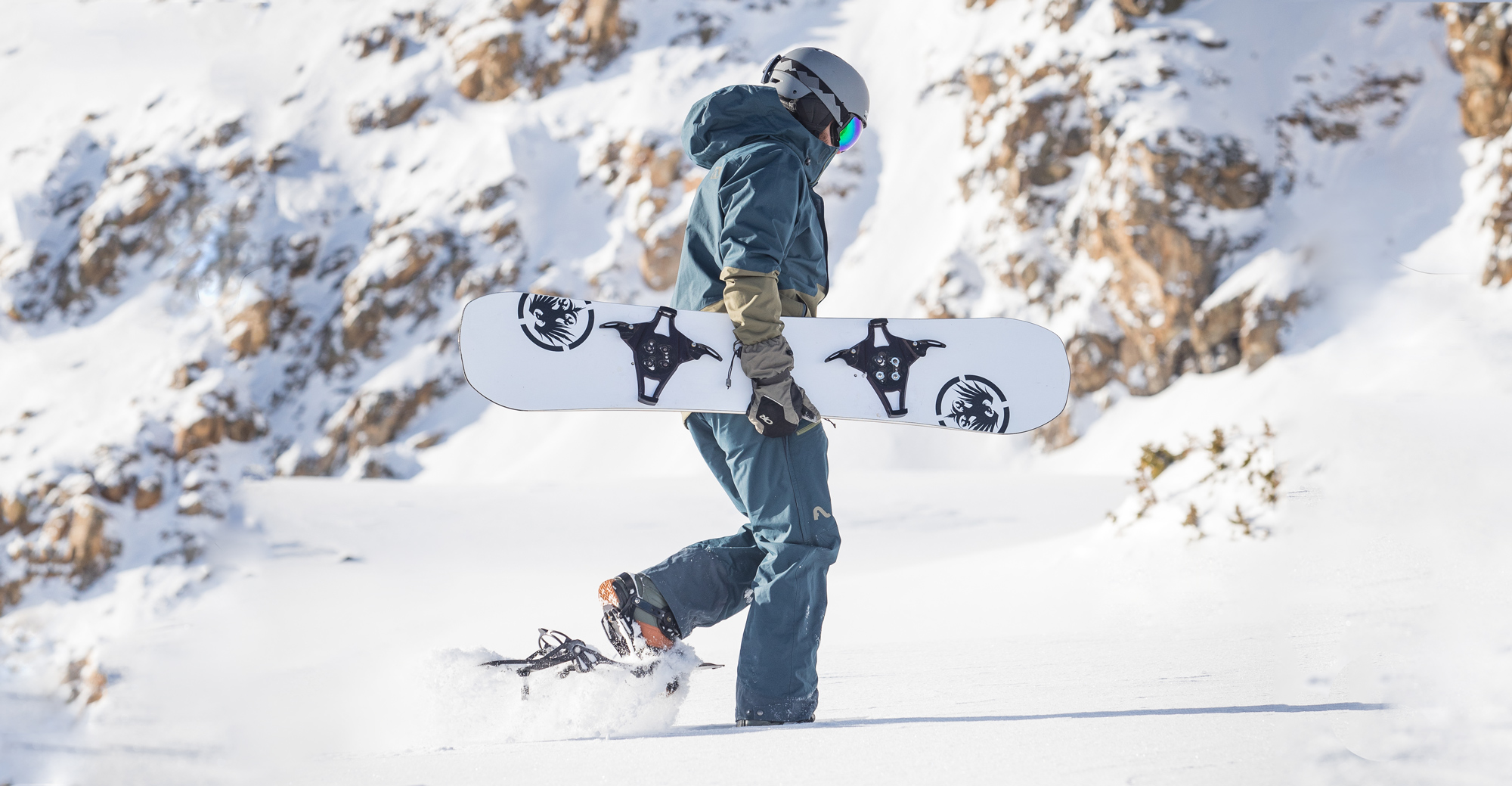 convert snowboard bindings