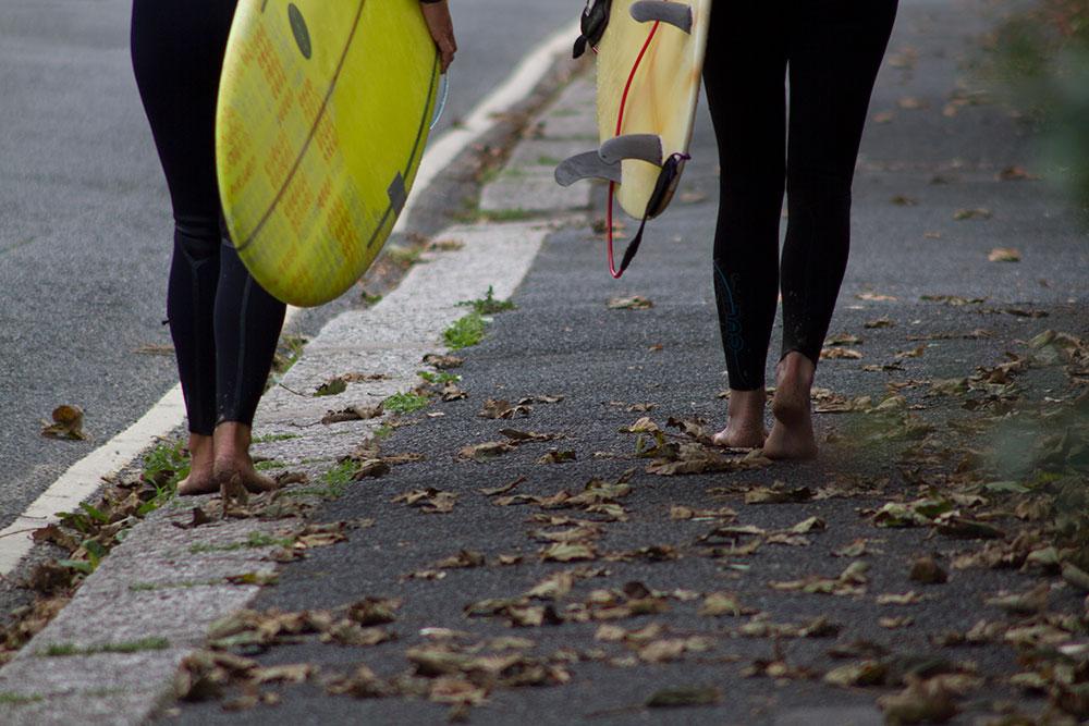 surfing town