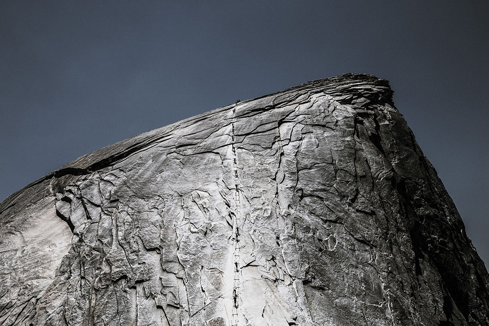 denys nevozhai The cables half dome yosemite