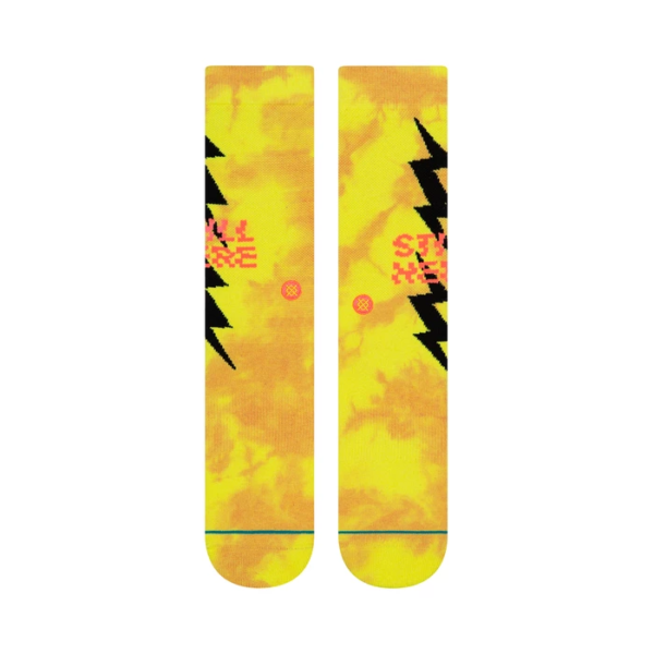 stance still here socks neon line2