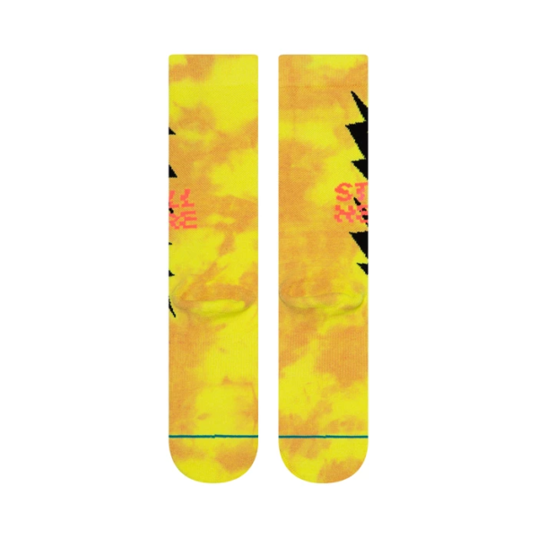 stance still here socks neon line3