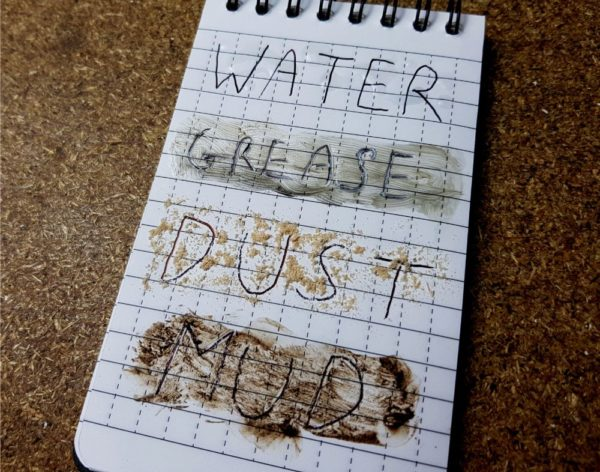 Water Grease Dust Mud polymath products
